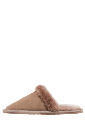 Hush Puppies - Cosy Taupe Slipper