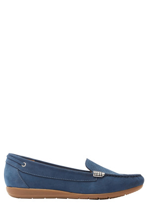 Supersoft by Diana Ferrari - France Loafer in Navy