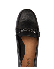 D.F.Supersoft - Supersoft by Diana Ferrari Poncho Black Loafer
