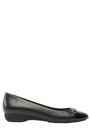 Supersoft by Diana Ferrari - Ervine Black/Patent Pump