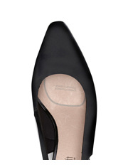 Supersoft by Diana Ferrari - Linden Black Smooth Pump