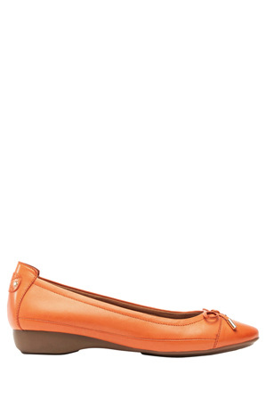 Supersoft by Diana Ferrari - Supersoft by Diana Ferrari Embark Orange Pump