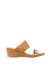 Supersoft by Diana Ferrari - Brazil Tan/Gold Sandal