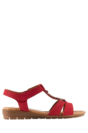 Supersoft by Diana Ferrari - Frangelico Raspberry Nap Sandal