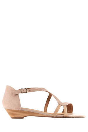 Supersoft by Diana Ferrari - Billy Blush/Metallic Sandal
