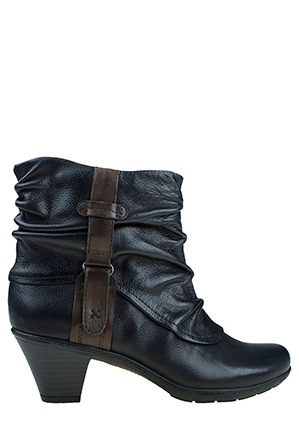 Planet Shoes - Phebe Black Boot