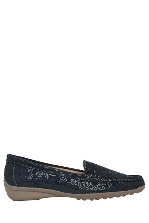 Just Bee - Cynthy II Navy Loafer