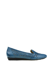Planet Shoes - Tiara Blue Loafer