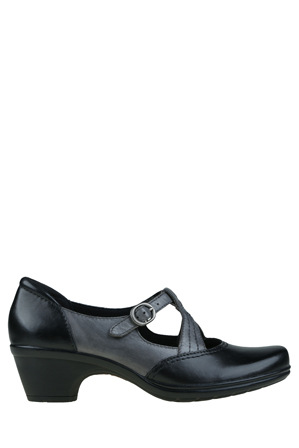 Planet Shoes - Machi2 Black/Grey Pump