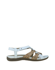 Planet Shoes - Iris White/Sand Sandal