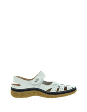 Just Bee - Caen White Sandal