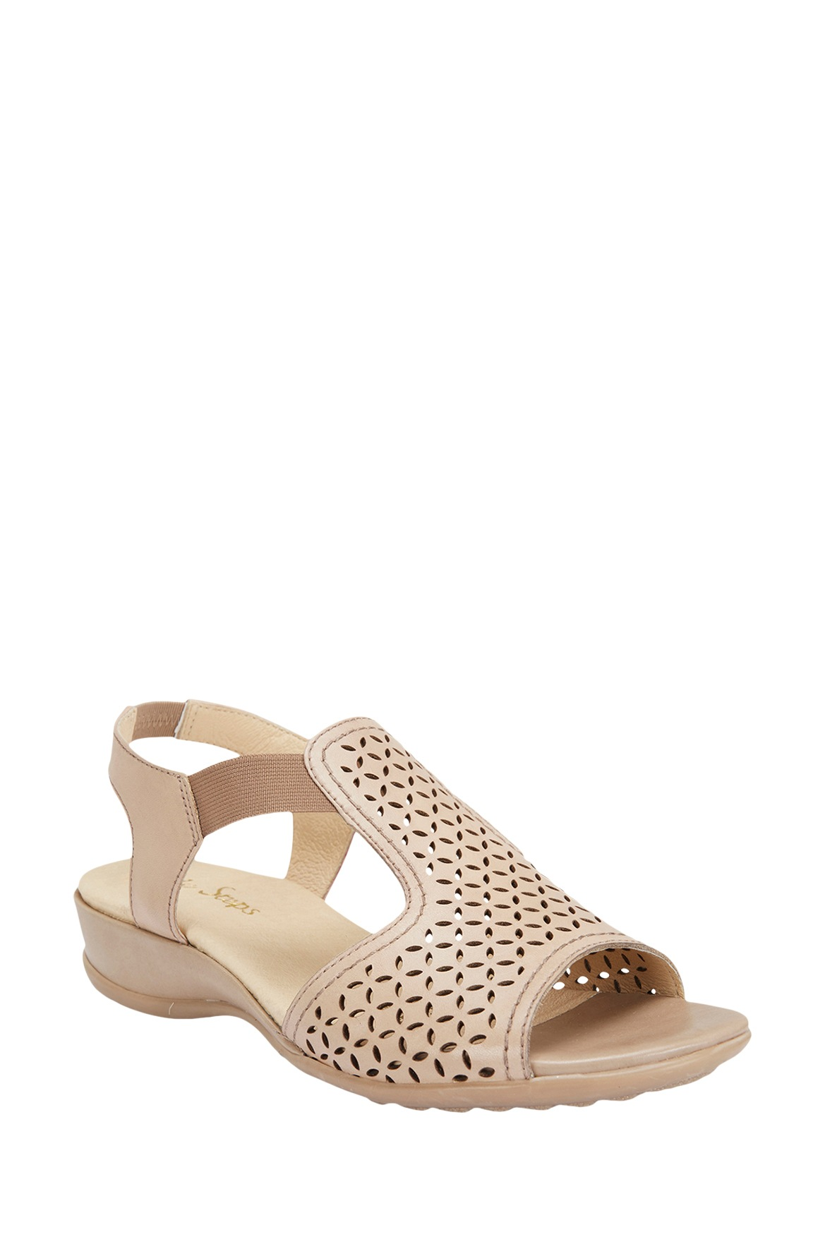 wide steps chion neutral glove sandal myer