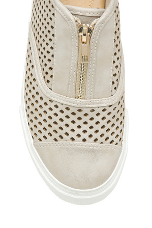Planet Shoes - Pearla Gold Sneaker