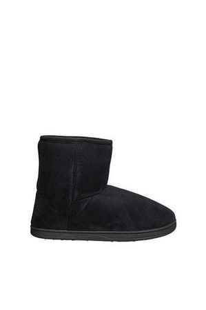 Grosby - Invisible Short Black Slipper Boot