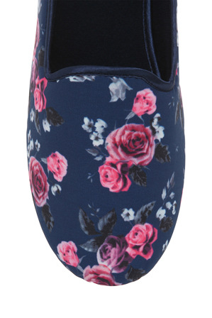 Grosby - Dee Floral Multi Sub Slipper