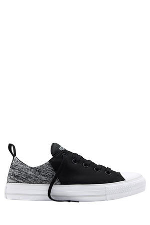 Converse - Chuck Taylor All Star Abbey Black/Mouse/White Sneaker