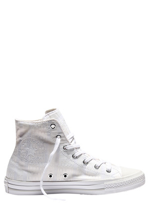 Converse - Chuck Taylor All Star Gemma Hi 555842 Engineered Lace White/Mouse/White Sneaker