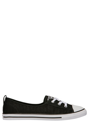 Converse - Chuck Taylor All Star Ballet Lace Ox 558290 Black/Black/White Sneaker