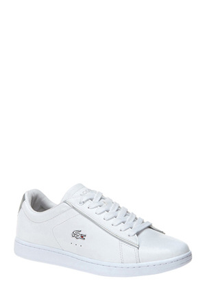 Lacoste - Carnaby Evo White/Light Grey Sneaker