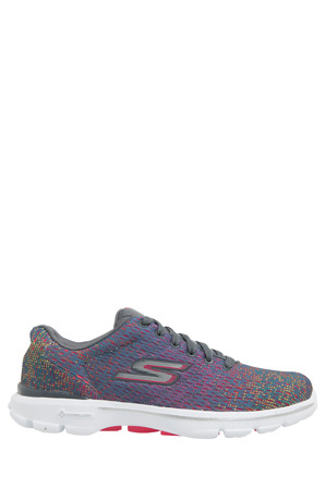 Skechers - Go Walk 3 - Digitize 14058 CCMT Charcoal/Multi Sneaker