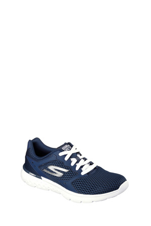 Skechers - Go Run 400 - Athletic Lace Up 14350 Navy/White Sneaker
