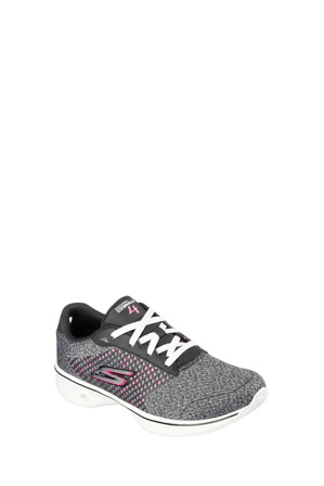 Skechers - GoWalk 4 - Exceed 14146 Black/Hot Pink Sneaker