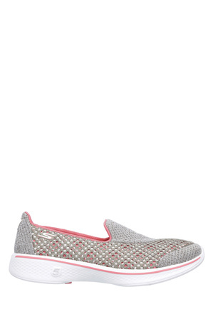 Skechers - GoWalk 4 - Kindle Slip On 14145 Taupe/Coral Sneaker