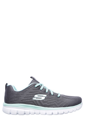 Skechers - Graceful - Get Connected 12615 Charcoal/Grey Sneaker