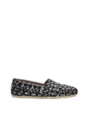 TOMS - Alpargata 10010782 Black Colourful Tribal Sneaker
