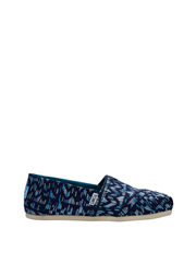 TOMS - Alpargata 10010802 Navy/Peacock Colourful Tribal Sneaker
