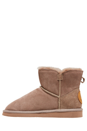 Hush Puppies - Lounge Taupe Slipper
