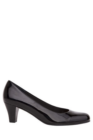 Easy Steps - Linda Black Patent Pump