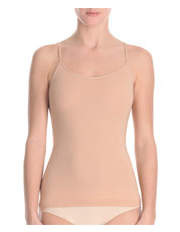 Ambra - Bodybare Singlet in black & nude