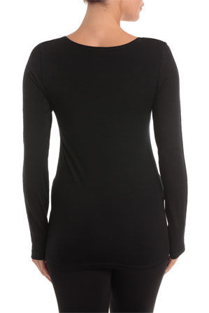 Soho - Thermals Long Sleeve Top USOW14006