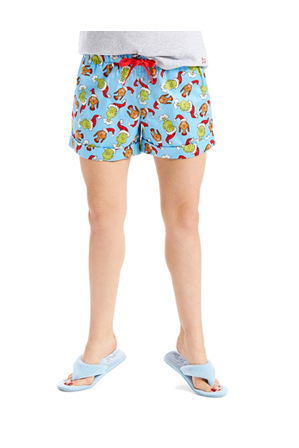 Peter Alexander - 'The Grinch' Gring Cotton Short 813109