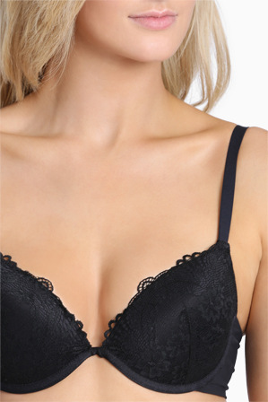 Chloe & Lola - 'Lace Pure Basics' Contour Push Up Bra  UCLW16002