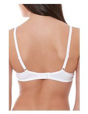 Huit - 'Sweet Cotton' Full-Cup Bra A0