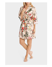 Soho - Satin Robe SSOS17067P