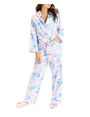 Peter Alexander - Soft Blue Rose PJ Set