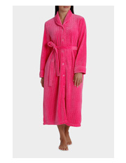 Givoni - 'Circles Luxury Polar' Midlength Button Up Gown 5GC77