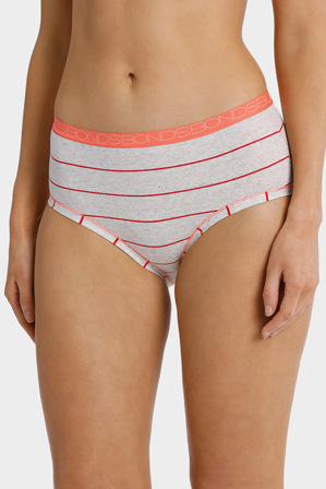 Bonds - 'Cottontails' Stripe Full Brief WZSX