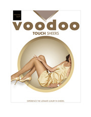 Voodoo - 'Touch' Sheers H30490