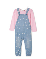 Sprout - Overall & Tee Shirt Set