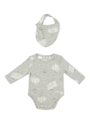 Peter Rabbit - Long sleeve bodysuit with bib