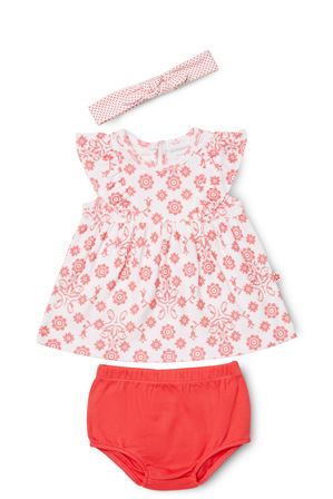 Marquise - Dress, Bloomer & Headband Set 3PC