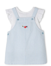 Girls Pinafore with Top