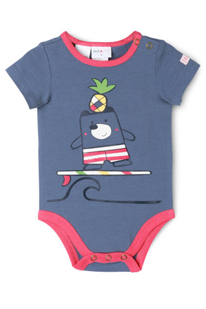 Jack & Milly - Henry Surfing Bear Bodysuit 000-1