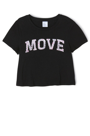 Flo Active - Cropped Tee - Print