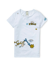SCOTCH R'BELLE - Tee with Placed Artwork