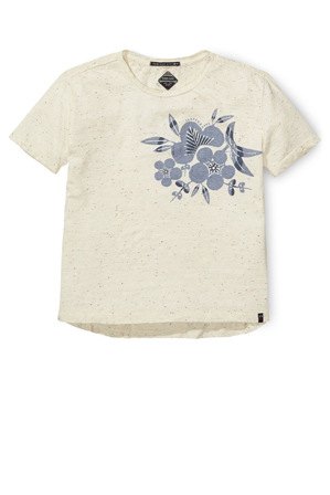 SCOTCH R'BELLE - Boxy Worked Out Short Sleeve Tee